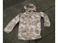 SMALL - Issued Desert Windproof Smock (Hooded Jacket) - British Military / RAF