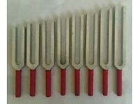 Tuning forck set of 8 for sale