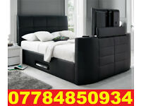 TV BED WITH GAS LIFT STORAGE Fast DELIVERY 01
