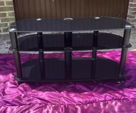 Television unit. Black gloss. Excellent condition. £10.00