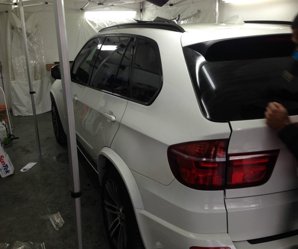 Professional Window Tinting plasti dip Parking sensors HID