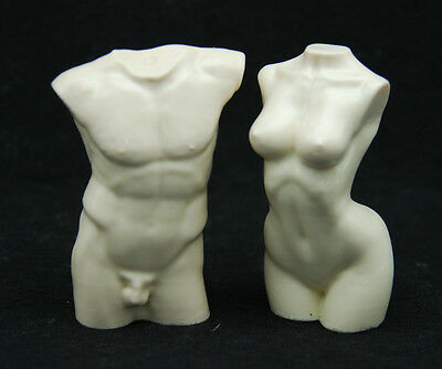 3D Body #2, Silicone Mold Chocolate Polymer Clay Jewelry Soap Melting Wax Resin