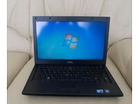 "Dell Latitude E4310 13.3"" Laptop i5 8GB RAM 500GB HDD WIN 7 SUPER FAST LAPTOP MINT"