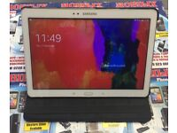 Samsung Galaxy Tab Pro T520 10.1 inch 16GB WHITE 2GB RAM Tablet with book Case and USB charger