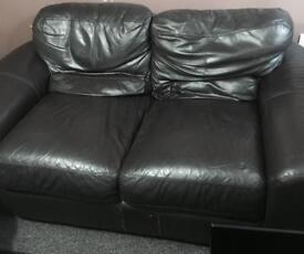 affordable leather 3 + 2 seaters