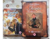 Sharpe, The complete series in one box set plus the two additional dvd's