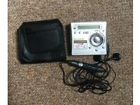 Retro Sony Portable Minidisc Recorder MZ-R700