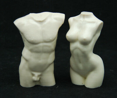 3D Body #2, Silicone Mold Mould Chocolate Polymer Clay Soap Candle Wax Resin