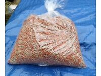 1kg bag of pond fish pellets/ food