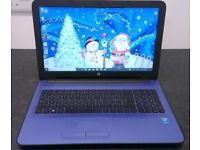HP Laptop. Less than two years old, 4GB Ram, 500GB Hard Drive, Wireless, Bluetooth, Webcam, DVDRW