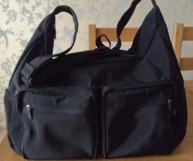 Black Holdall, Sports Bag, Overnight Bag, Weekend Bag