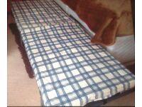 Fold up single beds