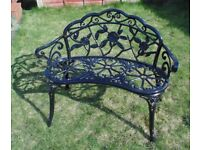 (#714) stunning alluminium garden bench (Pick up only, Dy4 area)