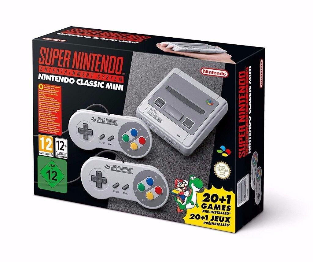 Nintendo Classic Mini: SNES Super Nintendo Entertainment System