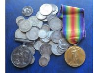 ALL COLLECTABLES, COINS,STAMPS, FIRST DAY COVERS, MEDALS, BANKNOTES PLEASE CALL PETE ON 07979808744