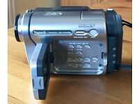 Sony Digital8 Handycam + case, cables, user guide & 7 cassettes. Excellent condition