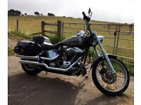 Harley Davidson Deuce FXSTD 2003 - Chrome - Custom Paint - EU import - 25,000 km
