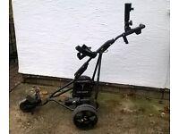 Powakaddy electric golf trolley & accessories