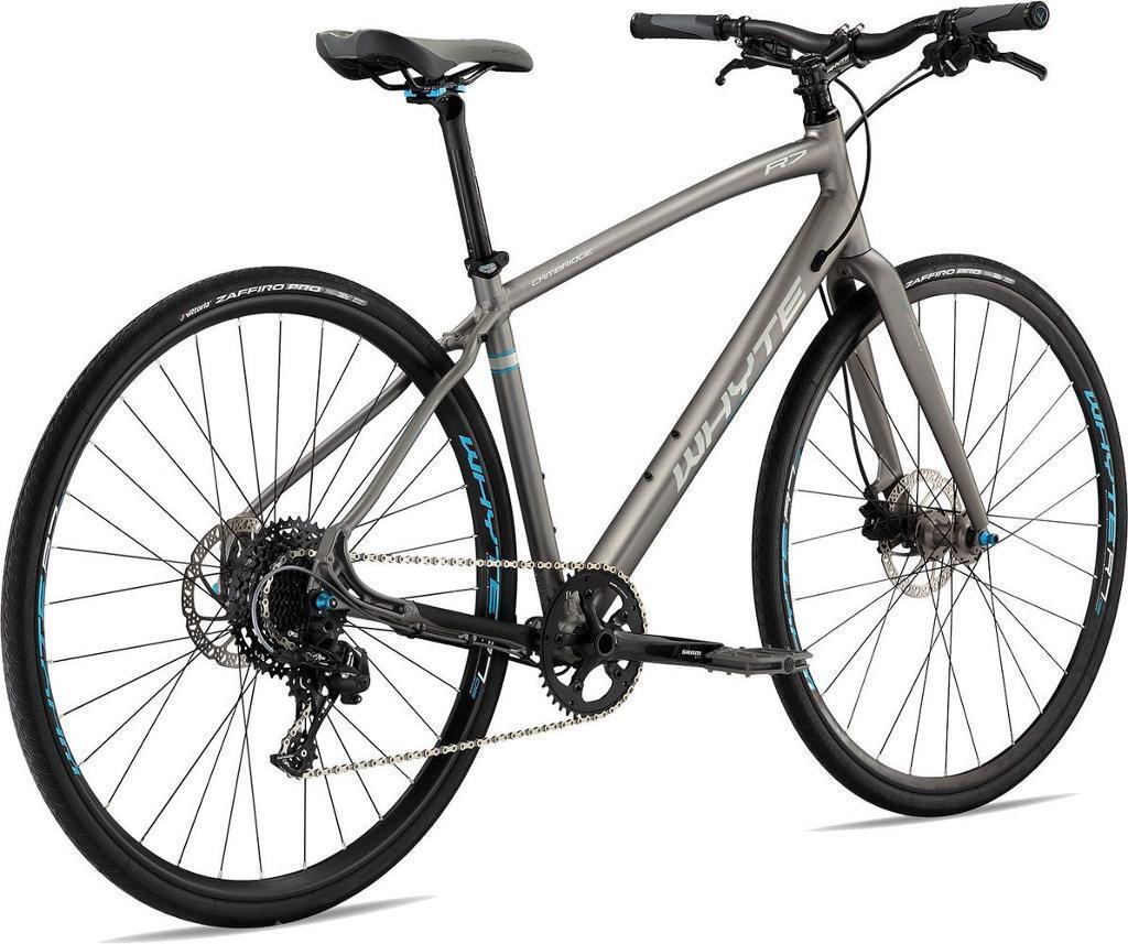 whyte cambridge 2017 hybrid bike grey in carshalton. Black Bedroom Furniture Sets. Home Design Ideas