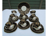 QUALITY BONE CHINA TEA SET MADE IN STAFFORDSHIRE ENGLAND