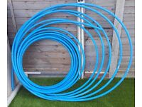 Blue water pipe 20mm x 25 meters