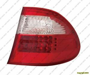 Tail Lamp Passenger Side With Appearance High Quality Mercedes E-Class 2004-2006