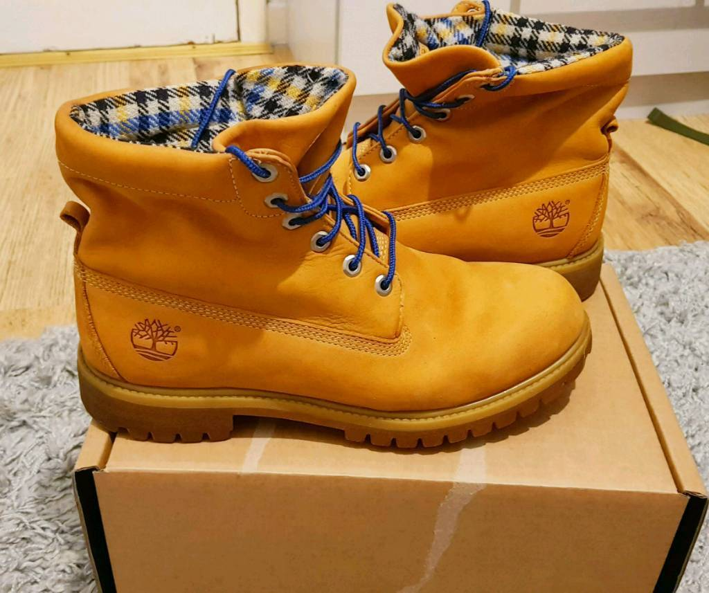 Timberland Roll Top Woolrich Boots @youngcollz | Men's Boots