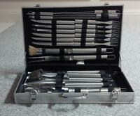 22 piece Stainless Steel Barbecue Set