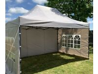 Easy Set-up Gazebo Marquees for Hire in London from £50; we can delivery anywhere in UK