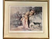 NUREYEV - THE LEGEND Limited Edition Signed Silk Lithography Print by GORDON KING with Certificate