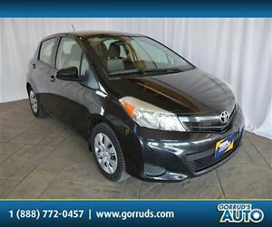 2012 Toyota Yaris LE HATCHBACK WITH CRUISE, POWER WINDOWS