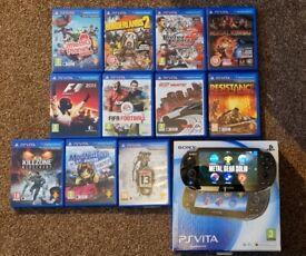 PS Vita(boxed) + Games