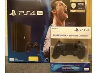 PS4 Pro with extra controller sale or swap for Xbox One X