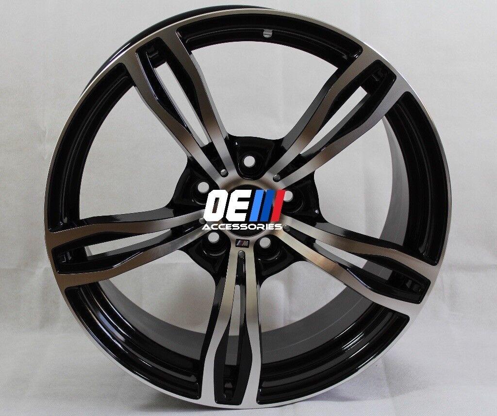 19INCH M3/M4 Style Alloy Wheels Gunmetal Machined BMW