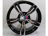 19INCH M3/M4 Style Alloy Wheels Gunmetal Machined BMW 5x120 E90 E92 F10 F30 E46