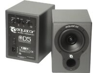 Equator D5 MK2 High end coaxial studio monitors