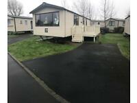Deluxe caravan for hire 8 berth kiln park tenby