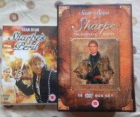 Sharpe, The complete series in one box set plus the two additional dvd's.