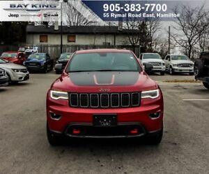 2017 Jeep Grand Cherokee TRAILHAWK 4X4, LUXURY GROUP, GPS NAV, D