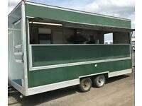 20ft Burger/Catering Trailer Ready To Go