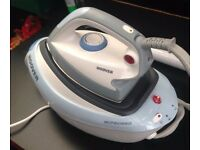 hoover ironspeed multi steam iron in box