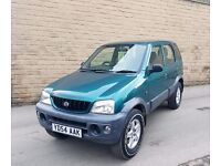 Daihatsu Terios 1.3 Tracker LOW MILES 1 FORMER KEEPER 1 MONTH FREE WARRANTY