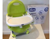 Chicco Pocket Snack Highchair, In green, is BRAND NEW and Comes with the Box!!!