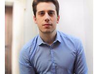 English teacher - Oxford graduate, business English & IELTS specialist - £12.50/hr
