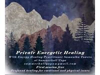 Private Energetic Healing with Energy Healing Practitioner - First Session Free
