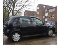 Vauxhall Corsa 1.2 low millage Cheap car Bargain