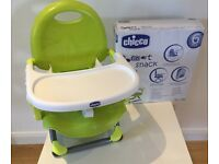 Chicco Pocket Snack Highchair, In green, is BRAND NEW and comes with the box!!