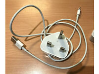 Genuine Apple 5W USB Power Adapter Wall Charger + Original Lightning Cable