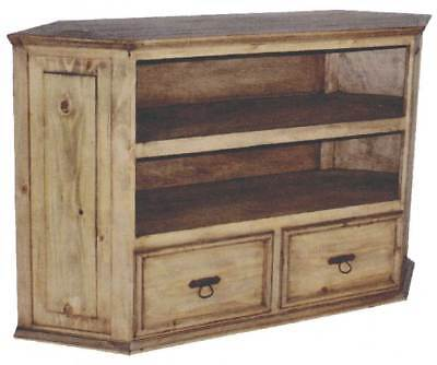Rustic Large Corner TV stand ()