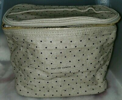 """Kate Spade Toiletry and Makeup Cosmetic Case Bag 9""""x7"""""""
